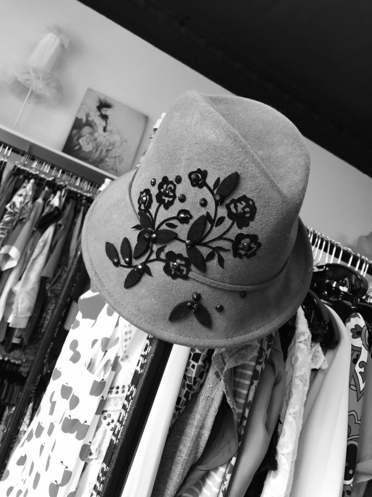 Top Hat tipped just so...That's the Thrifty Princess Boutique way