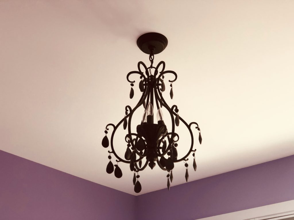 Chandeliers brighten up any room and add a personality